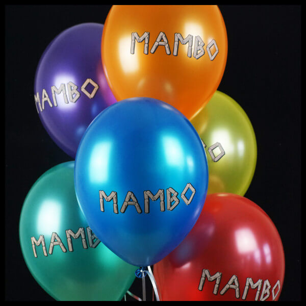 Mambo Colourful Balloon Printing