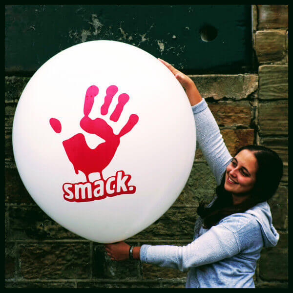 Giant Smack Printed Balloon